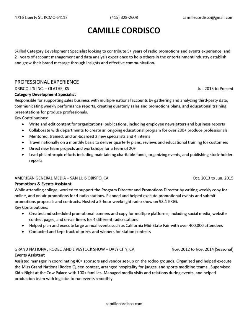 CamilleCordisco_Resume_Page_1