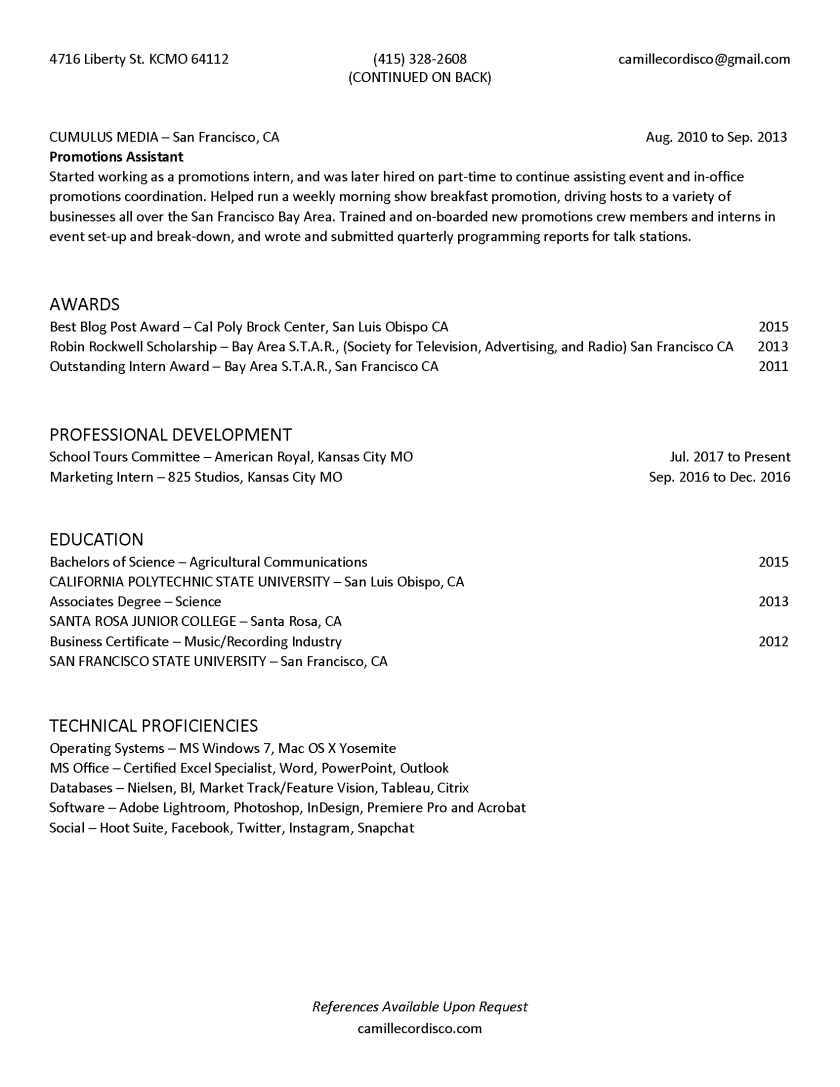 CamilleCordisco_Resume_Page_2